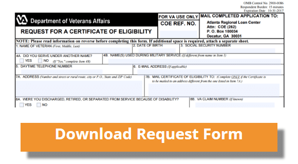 Certificate of Eligibility - Operation Mortgage